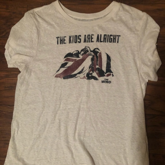 Abercrombie & Fitch Tops - The Who - The Kids Are Alright Abercrombie & Fitch